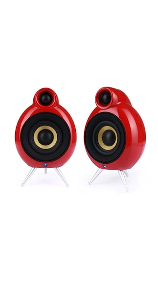 Podspeakers-MicroPod-SE-HiFi-Home-Audio-Speaker-(Red)