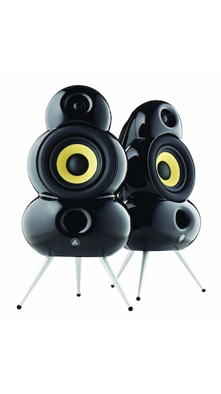 Podspeakers-SmallPod-HiFi-Home-Audio-Speaker-(Black)