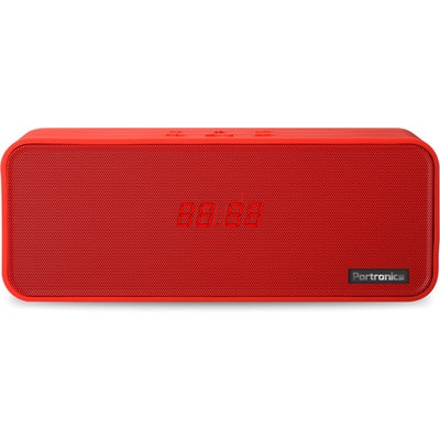 Portronics POR 139 Sublime Bluetooth Speaker With Fm (Red)