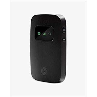 Reliance JioFi 3 5 mbps Wireless Data Card (Black)