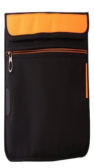 Saco-Laptop-Envelope-Sleeve-Bag-Case-Cover-with-shoulder-strap-for-Micromax-Canvas-Lapbook-L1161-11.6-inch-laptop-Orange