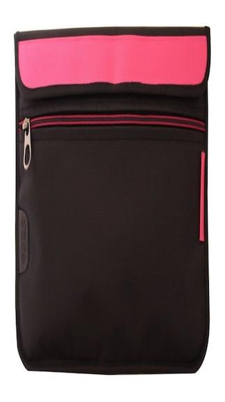 Saco-Laptop-Envelope-Sleeve-Bag-Case-Cover-with-shoulder-strap-for-Dell-Alienware-14-Laptop-14-inch-Pink