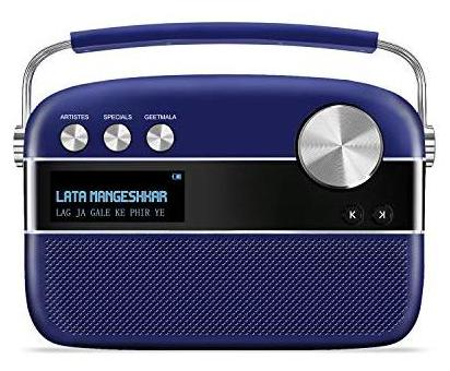Saregama Carvaan Premium Portable Digital Music Player Royal Blue