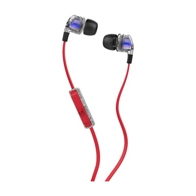 Skullcandy S2PGGY-391 Wired In Ear Earphone (Red & Blue)