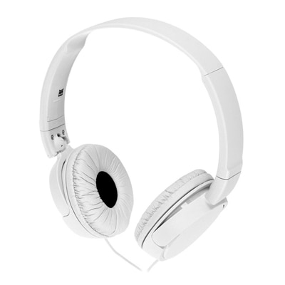 Sony MDR-ZX110 Wired Headphone (White)