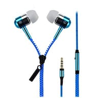 Spider Designs SD-55 Wired In Earphone (Blue)