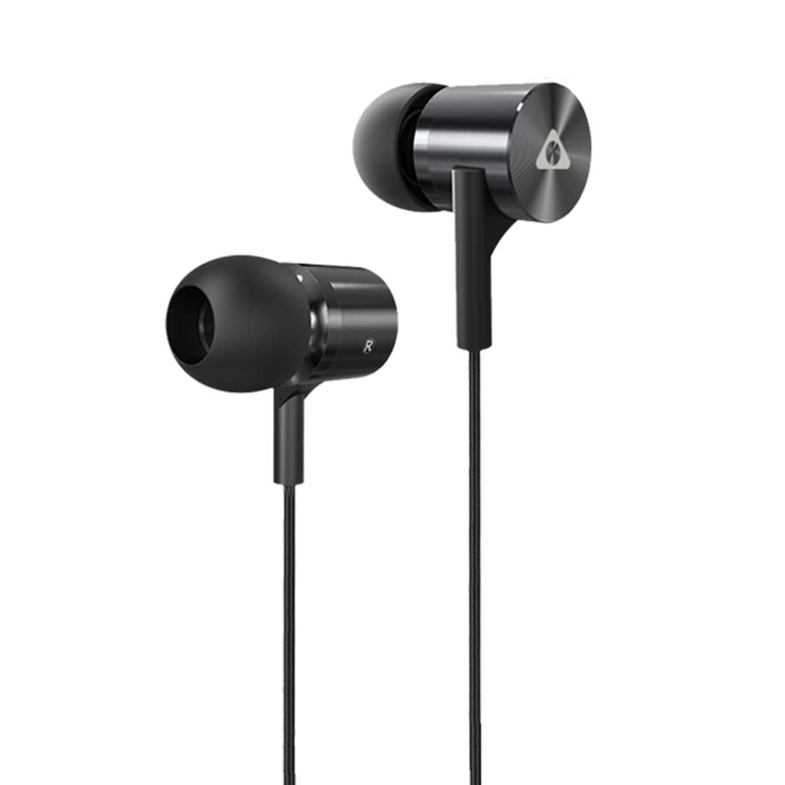 Stuffcool Bac In-Ear Wired Earphones Headphone with Stereo Sound and Hands-free Microphone and Volume Button for iPhone, iPad, Android Phones...