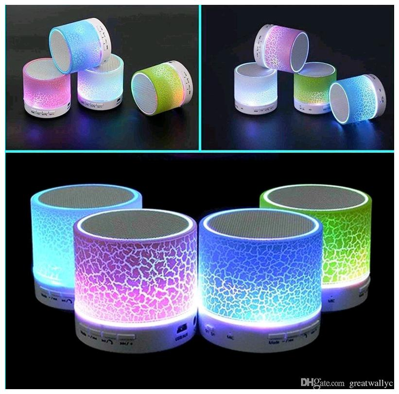 Wireless portable mini bluetooth speaker s10 with led lights from S.L.G