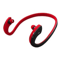Zoook ZB-BNB200 Bluetooth Wireless Over Ear Headphones (Black & Red)