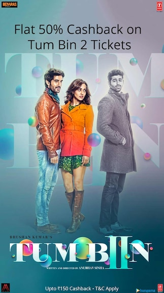 Get flat 50% cashback on Tum Bin 2 Movie tickets @Paytm