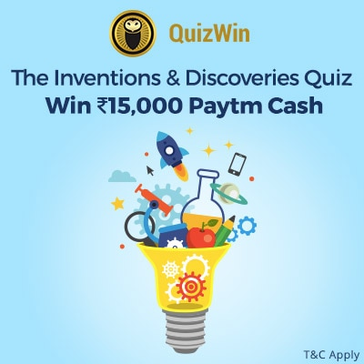 Play the Invention and Discoveries Quiz to win Rs.15,000 Paytm Cash