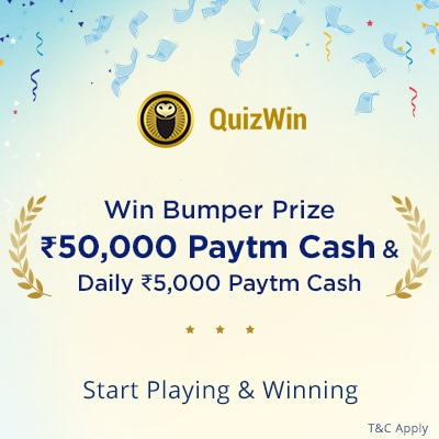 Win a whopping Rs. 1 Lac Paytm Cash!