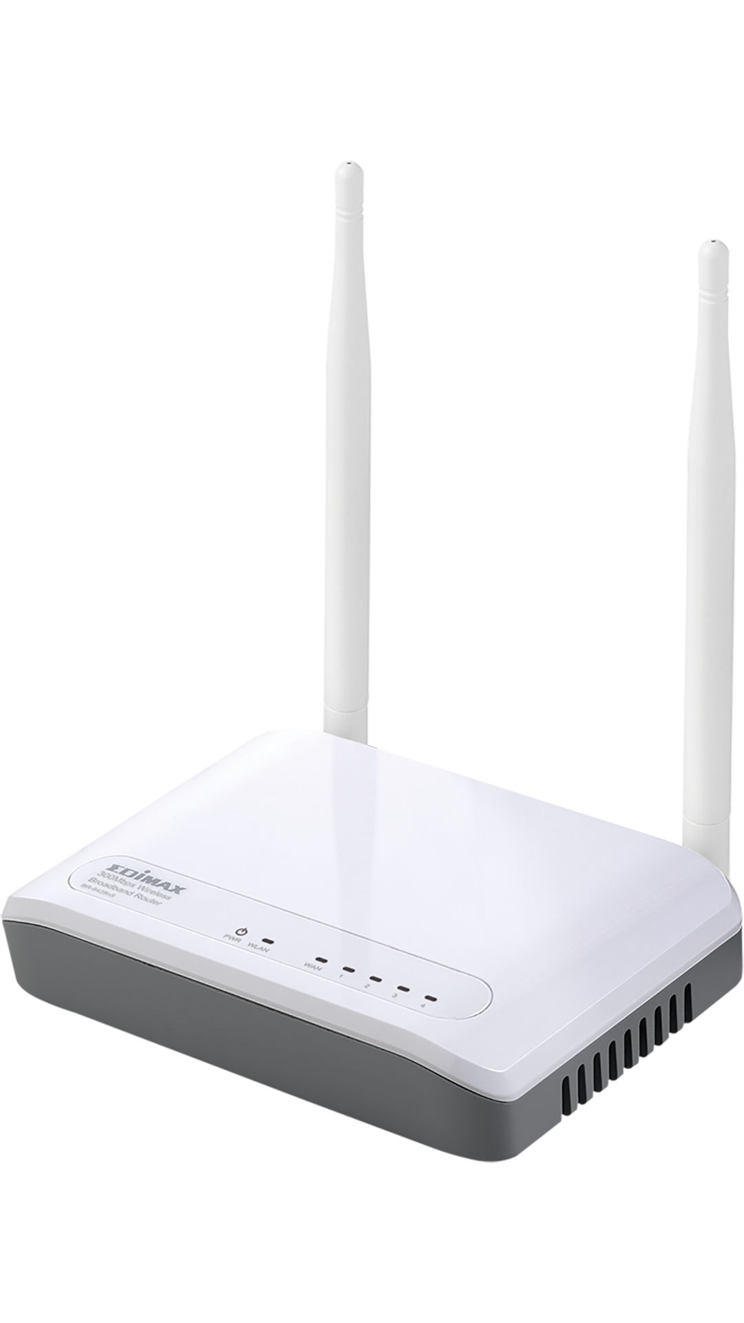 Edimax BR-6428nS 300 Mbps Wireless without Modem Router (White)