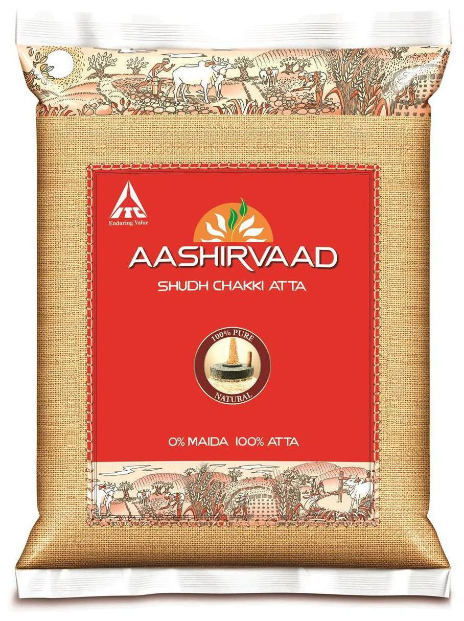 Aashirvaad Shudh Chakki Whole Wheat Atta 10Kg