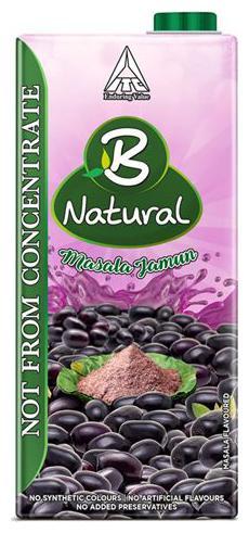 B Natural Juice Masala Jamun 1 L