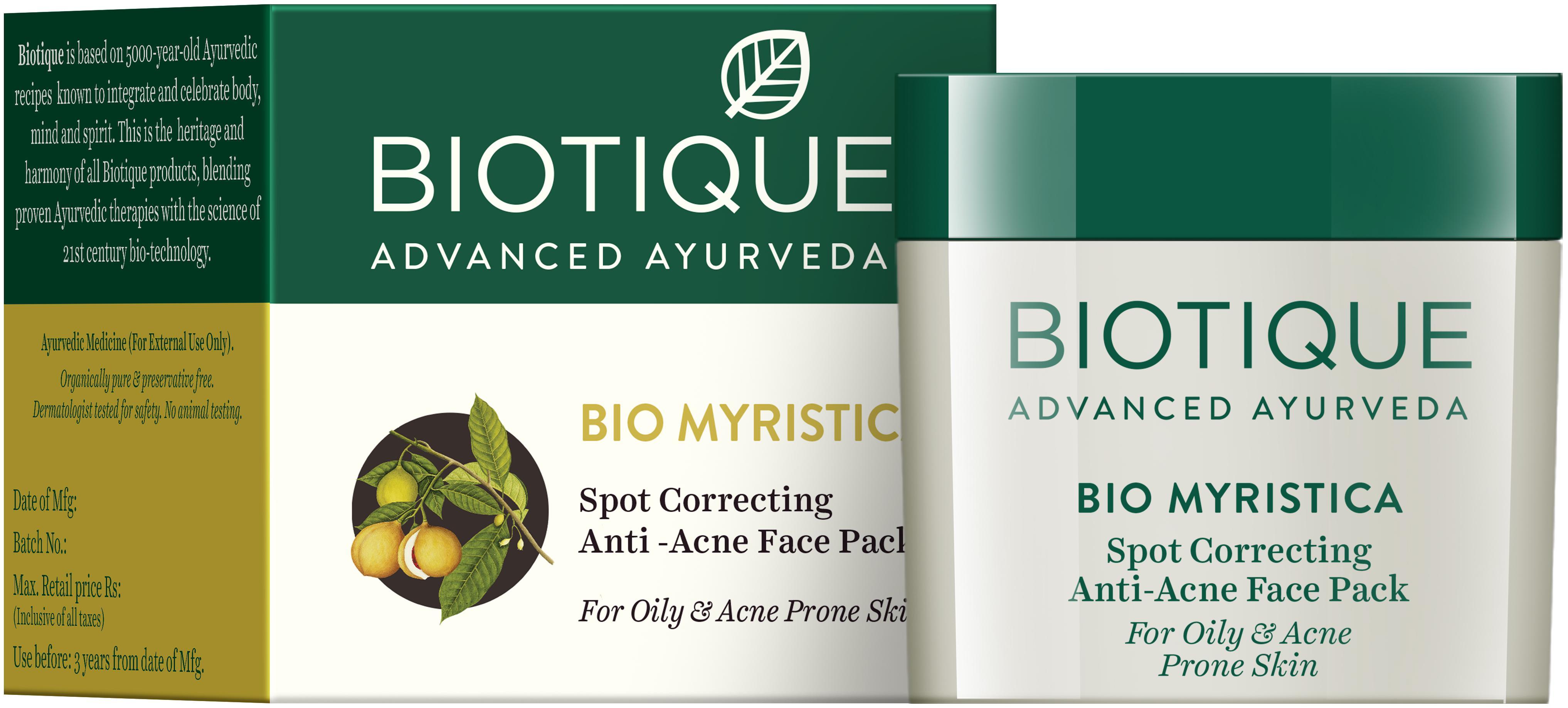 Biotique Bio Myristica Face Pack (20GM)