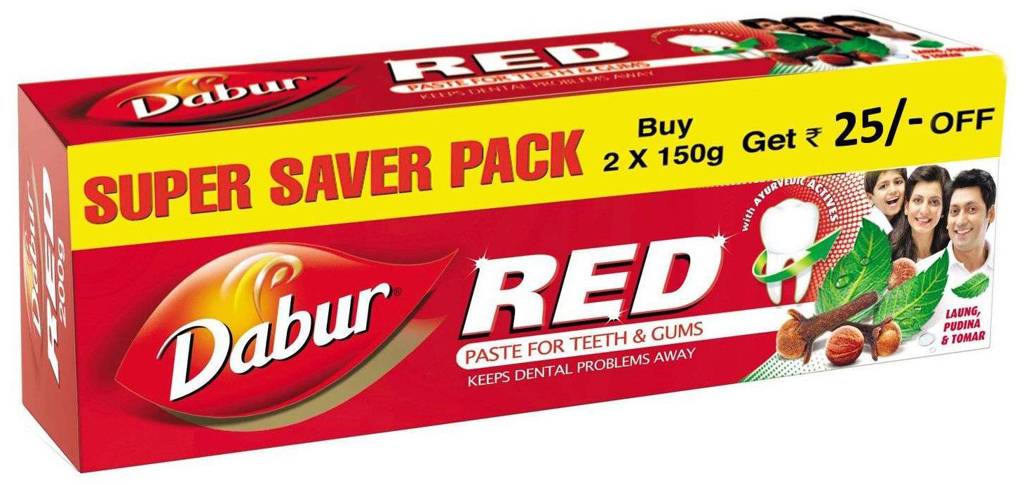 Dabur Red Ayurvedic Paste Super Saver Pack