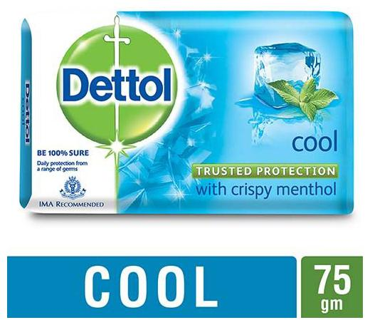Dettol Bathing Bar Soap - Germ Protection Cool 75 gm