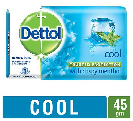 Dettol Soap - Cool 45 Gm
