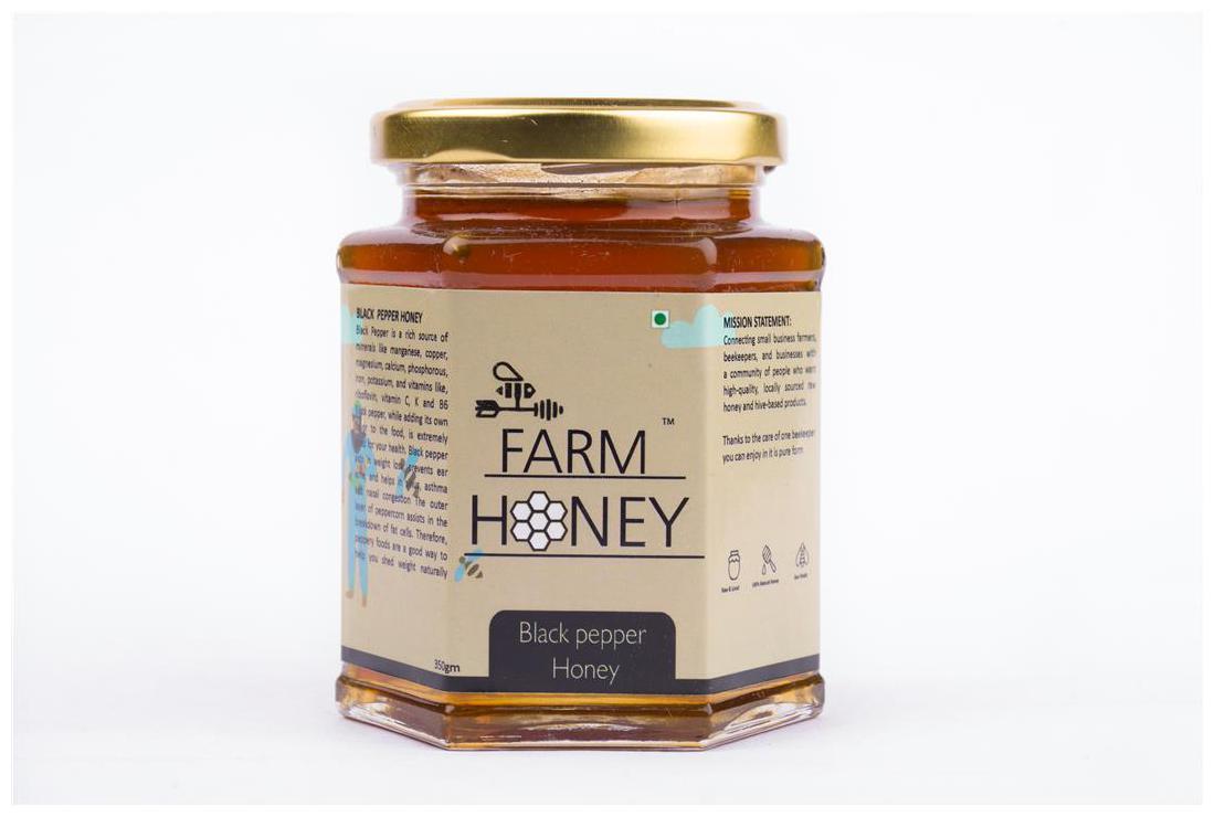 Farm Honey Black Pepper Honey-250G