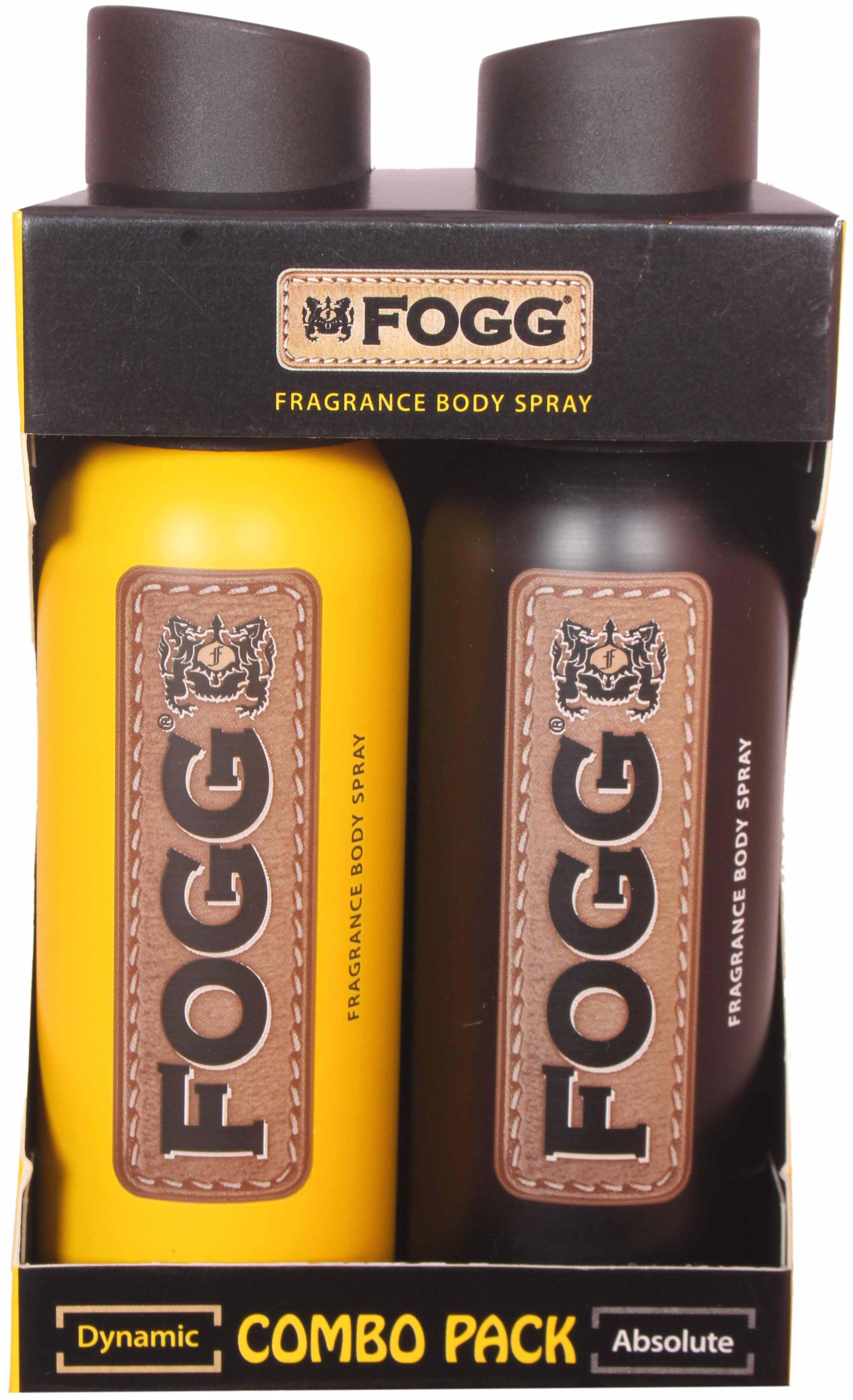 Fogg COMBO - Dynamic & Absolute Body Spray -240 ml