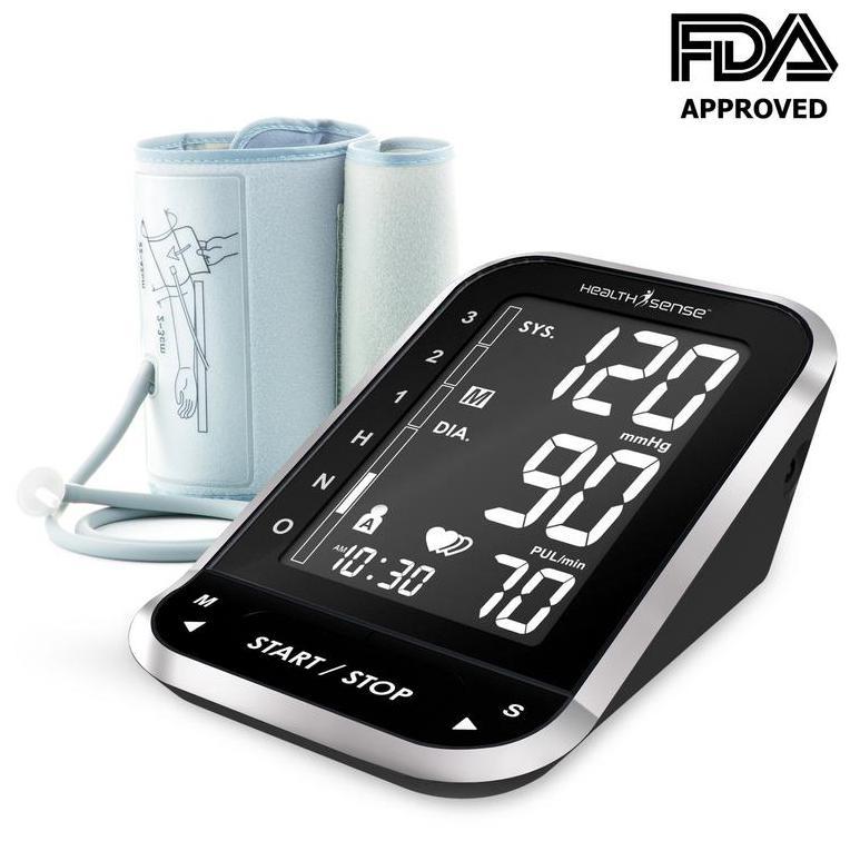 HealthSense Heart-Mate BP 300 Fully Automatic Digital Blood Pressure Monitor