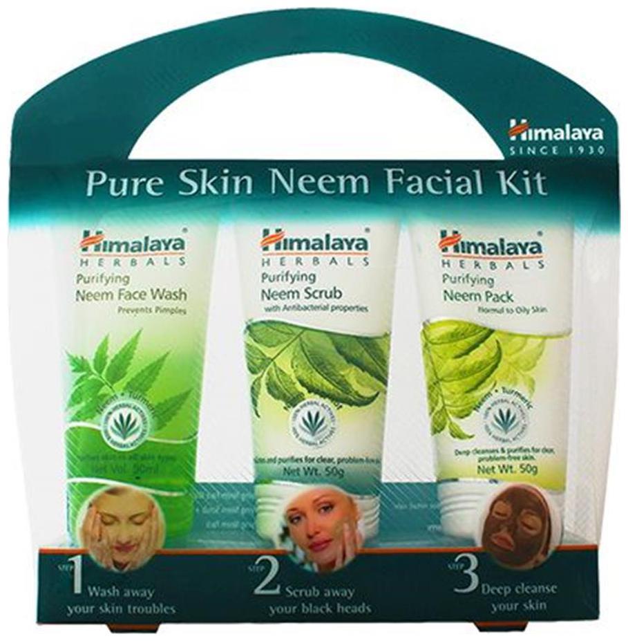 Himalaya Pure Skin Neem Facial Kit 200 gm