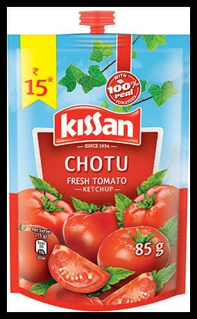 Kissan Fresh Tomato Ketchup 85gm 1