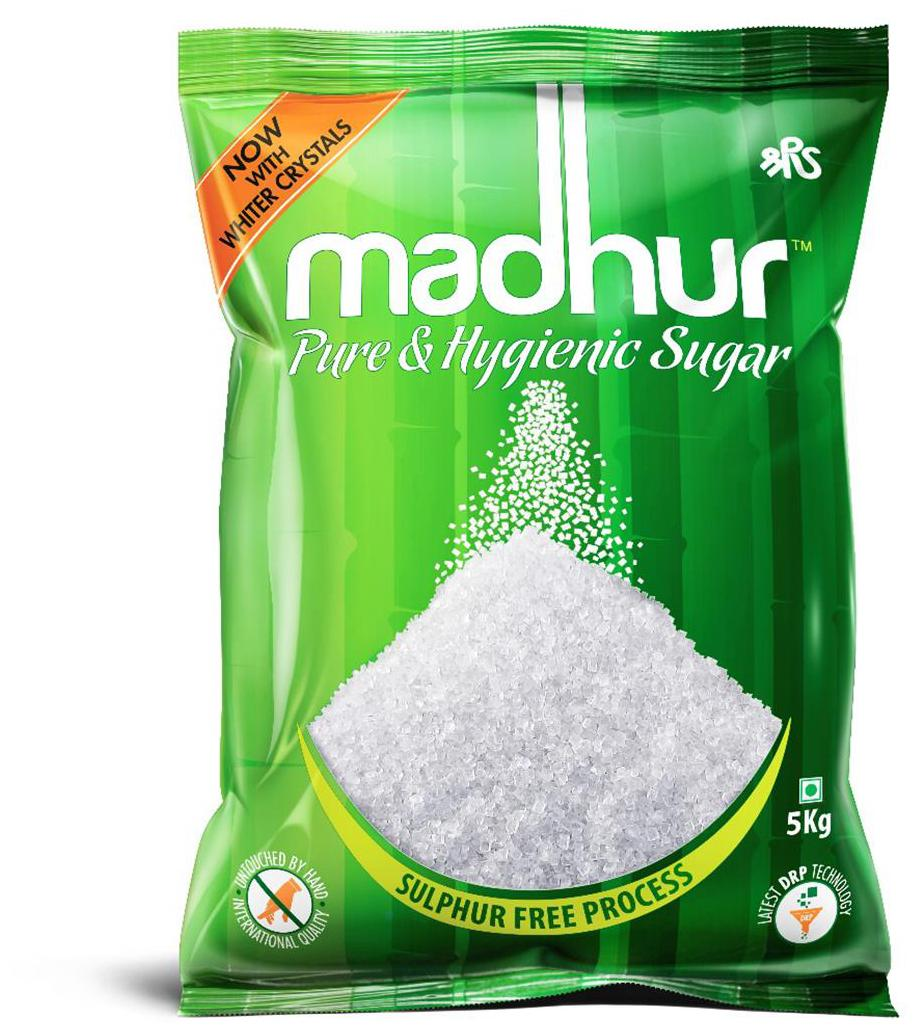 Madhur Pure and Hygienic Sugar 5kg