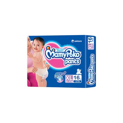 Mamy Poko Pants Diaper XL - 16 Pcs