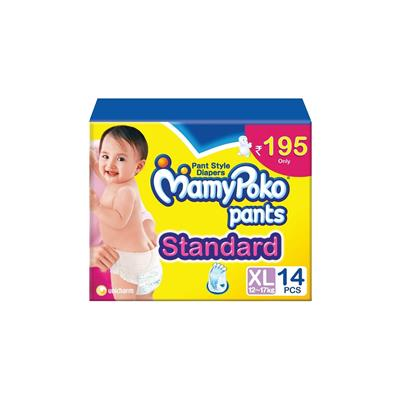 Mamy Poko Standard Pants Diaper XL - 14 Pcs