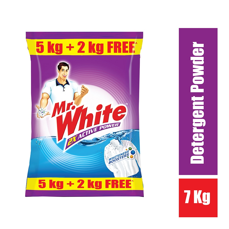 Mr.White Detergent powder 5Kg