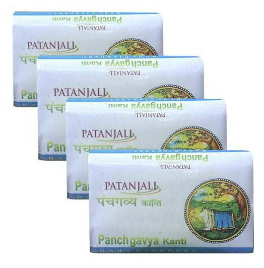 Patanjali Panchgavya Body Cleanser 75 gm(Pack of 4)