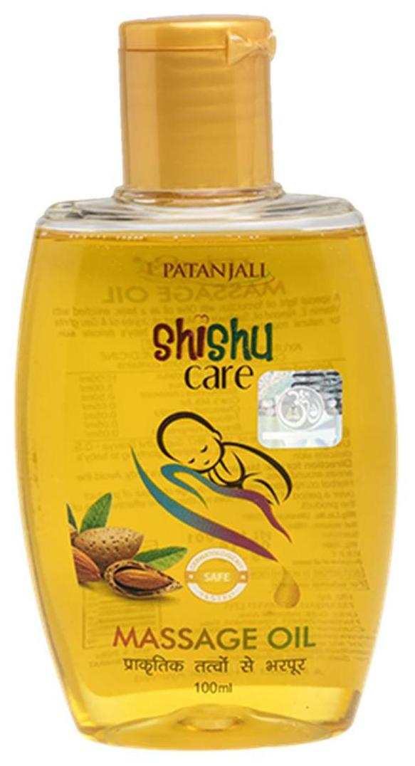 Patanjali Shishu Care Message Oil
