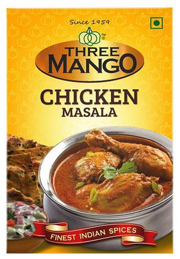 Three Mango Masala Chicken 50 gm