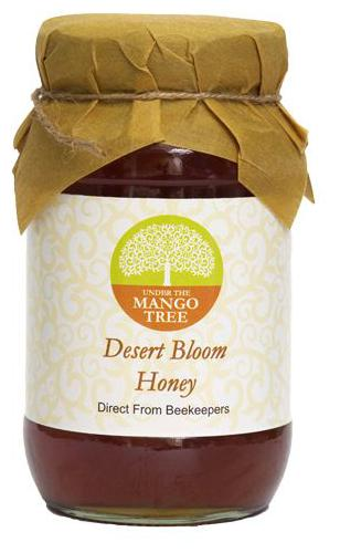 Under The Mango Tree Honey - Desert Bloom 500 gm