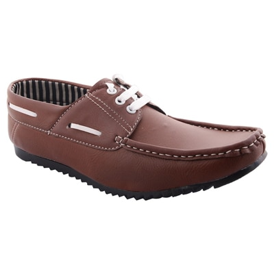 99moves Brown Casual Shoes