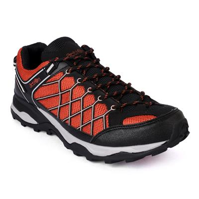 Action Shoes Men Sports Shoes 1901-Black-Red