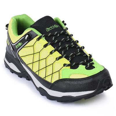Action Shoes Men Sports Shoes 1901-Green-Yellow