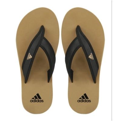 Adidas Men's Adi Rio Khaki Slippers & Flip Flops