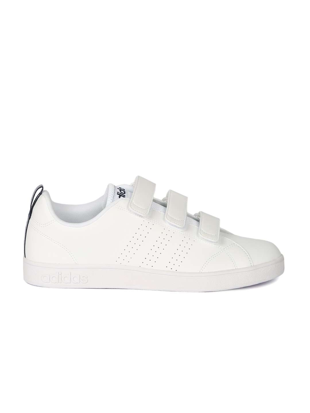 Adidas Neo Vs Advantage Clean Black Sneakers For Men Online In India Cleans White