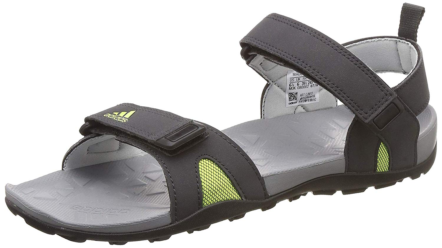 5fa1754b97a245 Adidas Bara Grey Floaters for Men online in India at Best price on ...
