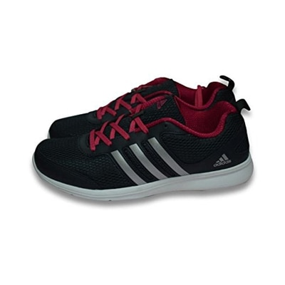 Adidas Black-red Running Shoes