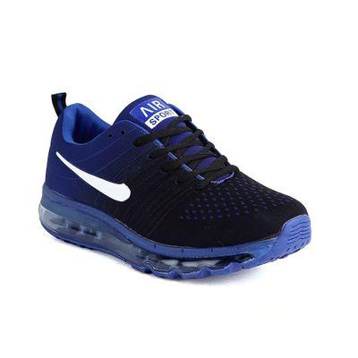 Air sport blue running shoes