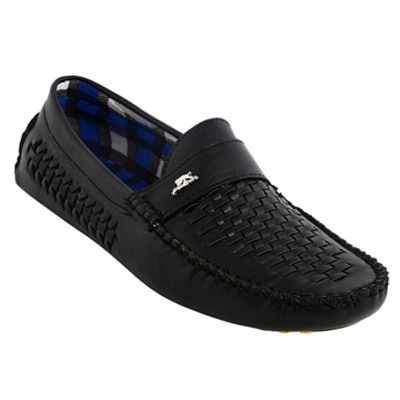 Bacca Bucci Mens Black Loafers