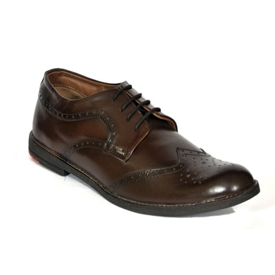 Black Casual Brown Formal Shoes