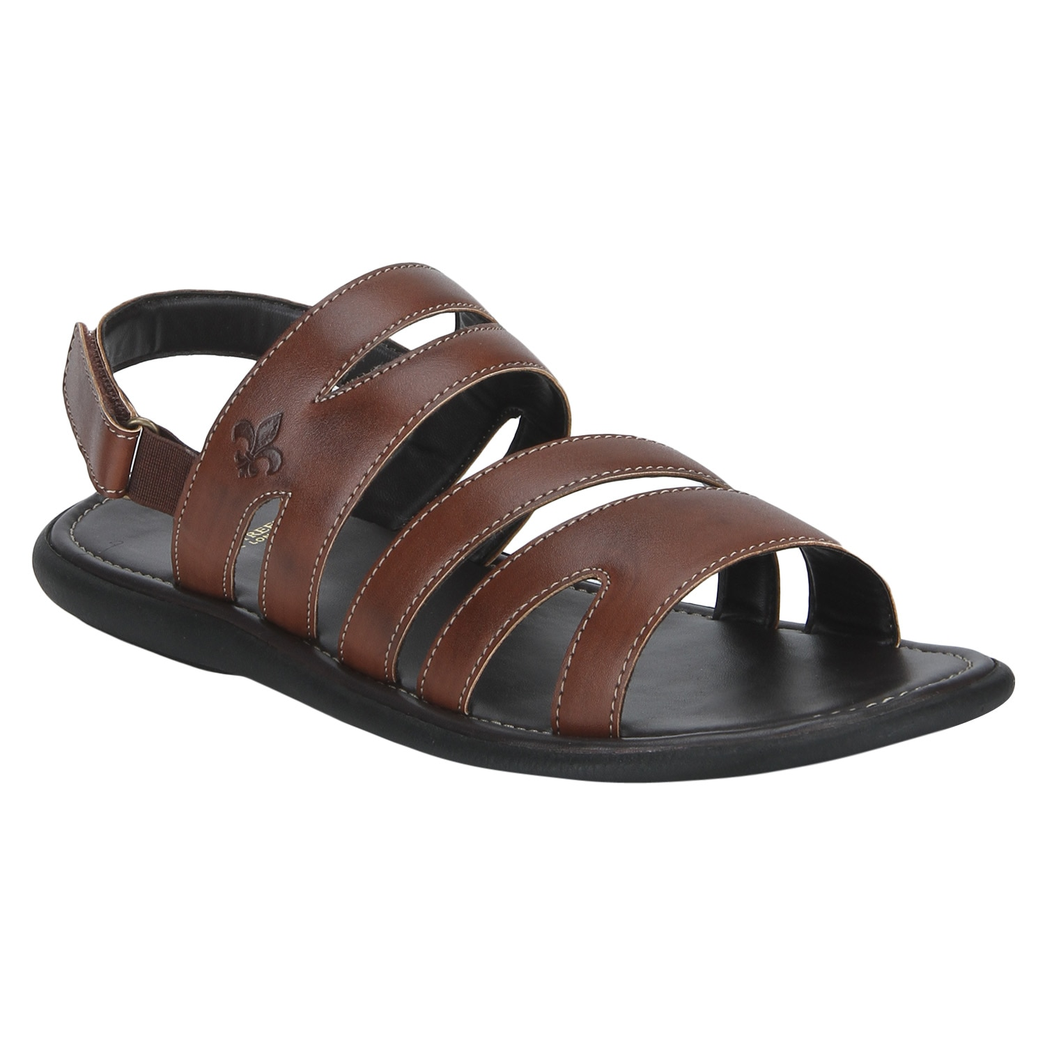 Bond Street By Red Tape Men Brown Sandals-RSP0502 BRN-9