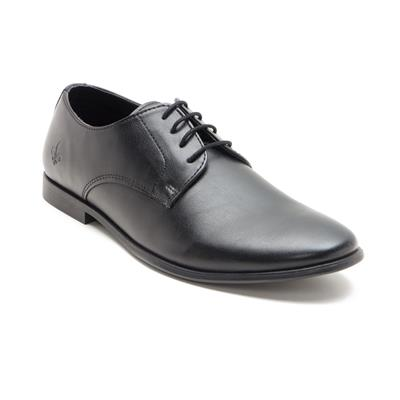 Bond Street by Red Tape Black Formal Shoes