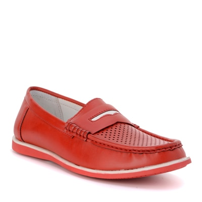 Bruno Manetti Red Loafers