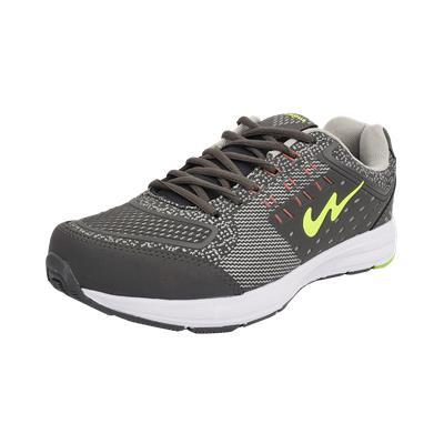 Campus KNIT-TECH Men Grey Sports Shoe